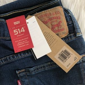 NWT - Levi's 514 Straight Jeans 👖